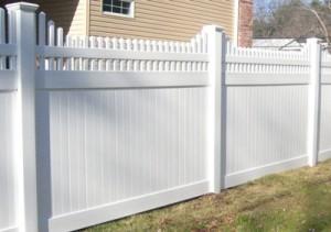 vinyl pvc fence