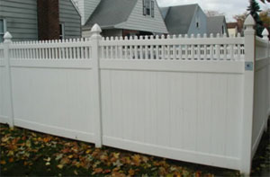 yard privacy fence