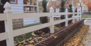 two rail fencing