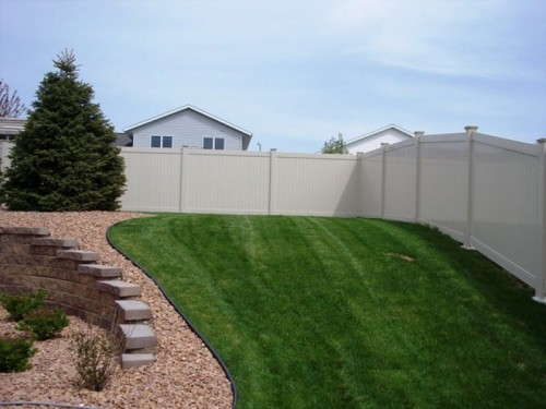 New York Vinyl Privacy Fence