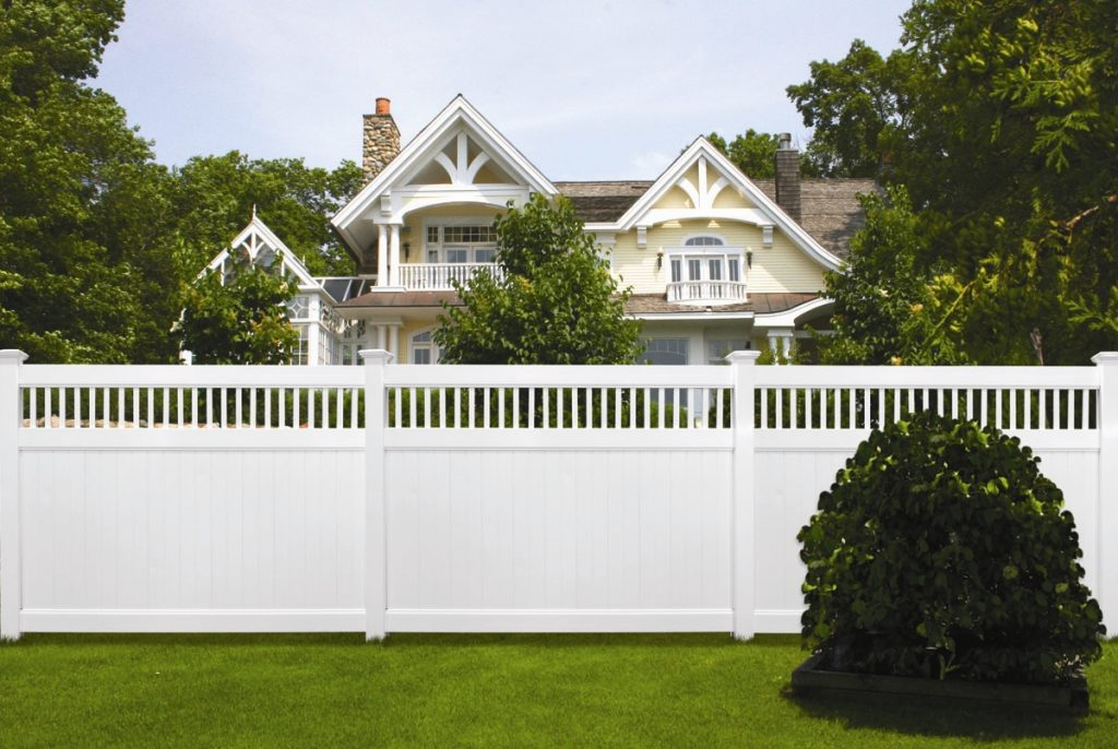 Privacy and semi privacy fencing wholesale vinyl aluminum fence vinyl semi private privacy fence baanklon Choice Image