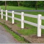two rail split fencing