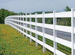 four rail pasture fence