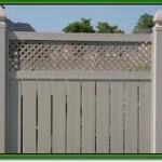 semi privacy fencing