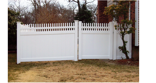 Indiana Style Privacy Fence