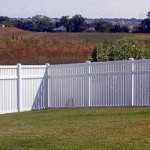 Kansas Style privacy fence