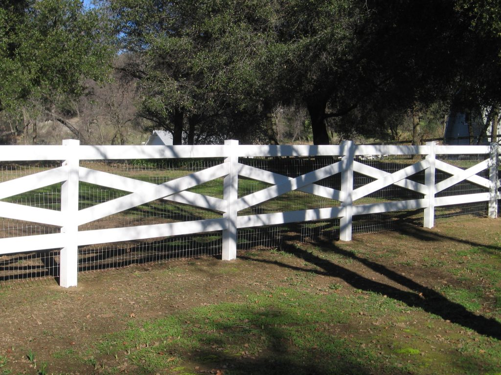 cross buck ranch fence