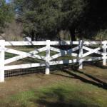 cross buck fencing