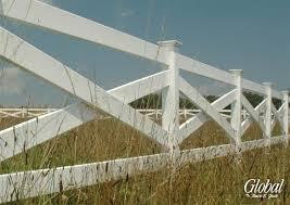 decorative vinyl ranch fencing