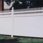 semi private privacy fence