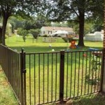 Yard security fence