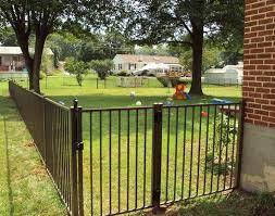 Yard security fence