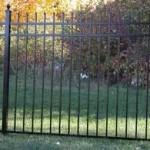 Tall Aluminum Fence