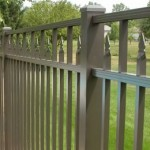 Siskin Style fence in bronze