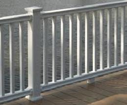 classic deck railing